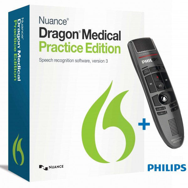 Dragon Medical Practice Edition 3.2 & SpeechMike Premium LFH3500