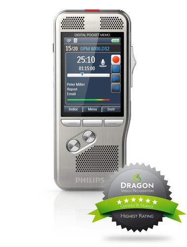 Philips Pocket Memo DPM 800https://www.speechmike-premium.de/media/image/cc/3e/b6/dpm8000_philips-pocket-memo_p3d_01-1.jpg0 Serie
