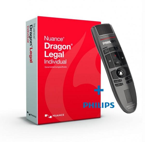 Dragon Legal Individual 15 & SpeechMike Premium LFH3500