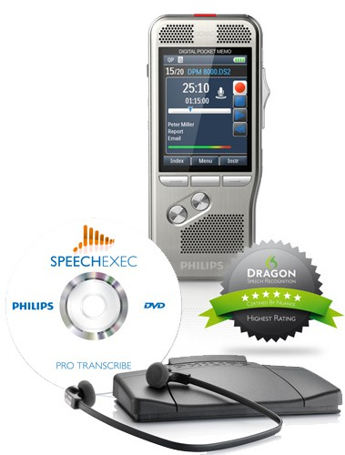 DPM8000er Serie- Komplettset für Anwalt und Schreibkraft