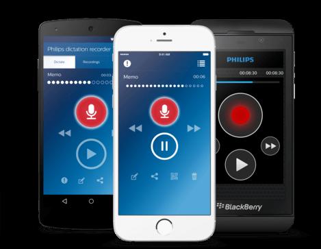 Diktier-Recorder-App LFH7400
