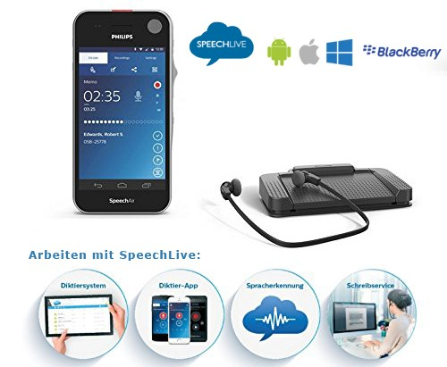 DAS JURISTENPAKET SpeechAir PSP1100 - Schreibplatz ACC5220 - inkl. 2 SpeechLive Lizenzen
